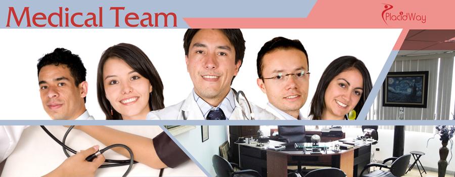 Dr Hugo Jativa Naranjo, Ecuador,  Medical Team, Botox, Hair Transplant