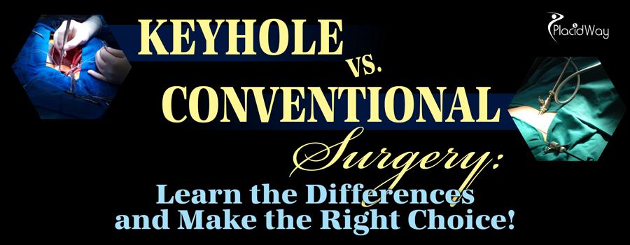 Keyhole vs Conventional Surgery