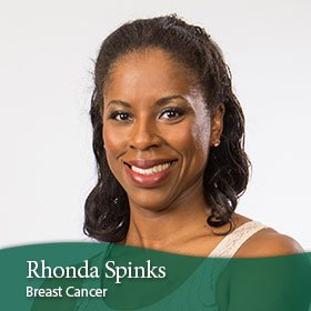 Rhonda Sprinks  Breast cancer - Stage III hormone-positive