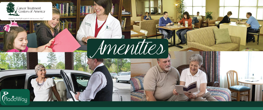 Amenities Cancer Treatment Centers of America Tulsa, Oklahoma