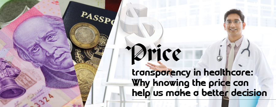 Price transparency in healthcare