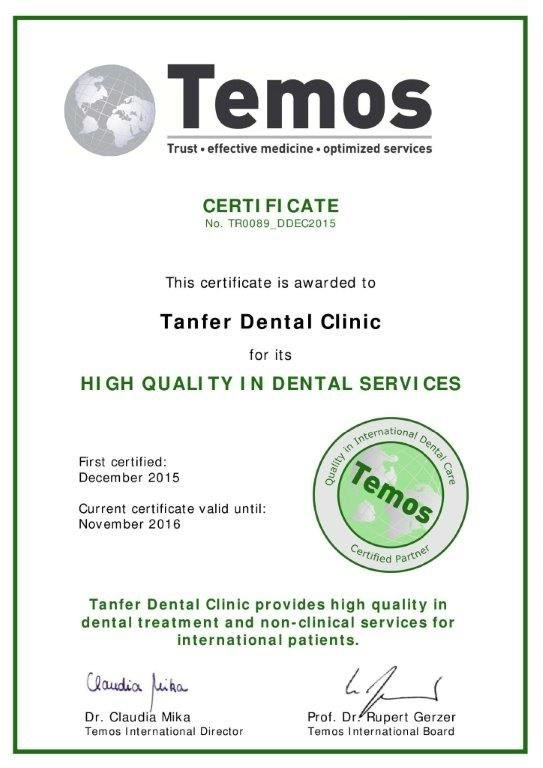 Dental Clinic Accreditation, Istanbul, Turkey