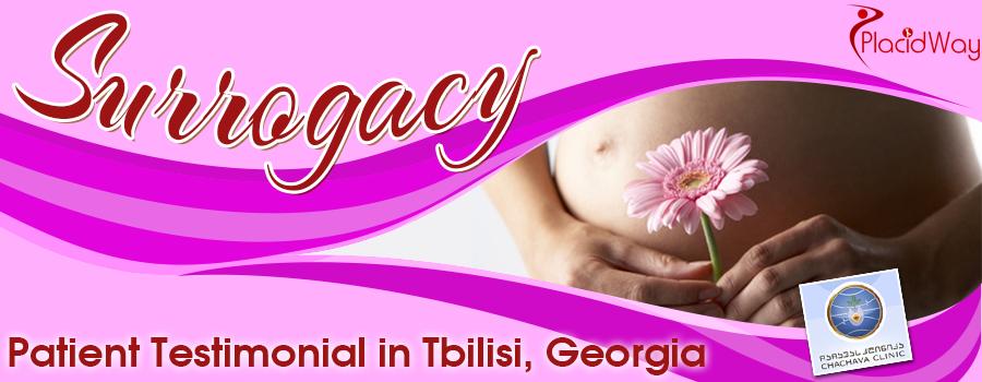 Surrogacy Patient Testimonial in Tbilisi, Georgia