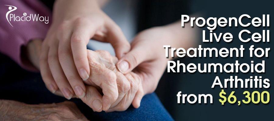 Live Cell Treatment for Rheumatoid Arthritis