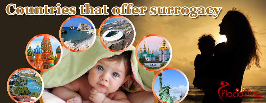 Countries that offer surrogacy