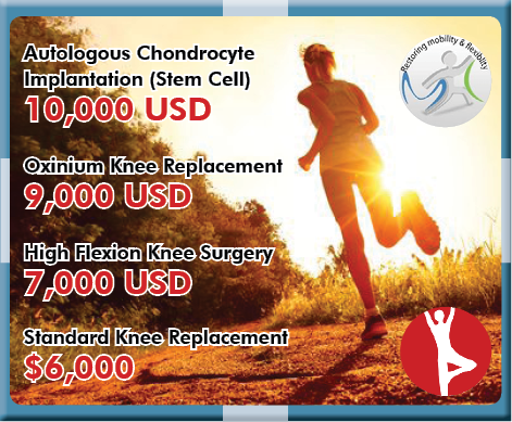 Knee Surgery in India Prices