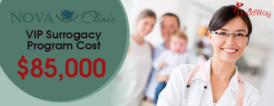 VIP Surrogacy Program Cost - Nova Clinic Russia