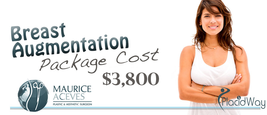 Breast Augmentation Package Cost in Mexicali, Mexico