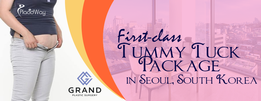 First-class Tummy Tuck Package in Seoul, South Korea