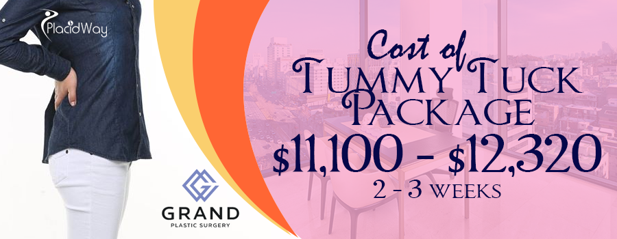 Cost of Tummy Tuck Package in Seoul, South Korea