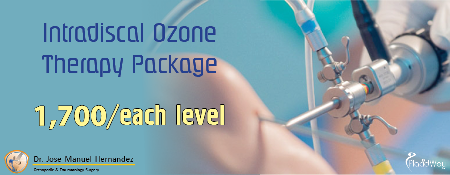 Dr. Jose Manuel Hernandez (Puerto Vallarta, Mexico) Intradiscal Ozone Therapy Package Costs
