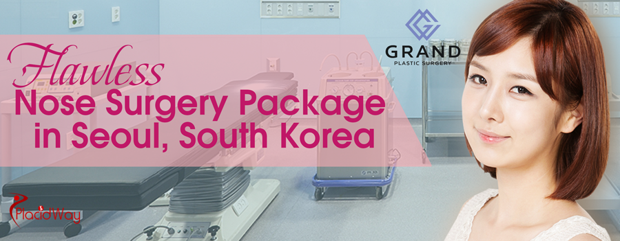 Flawless Nose Surgery Package in Seoul South Korea