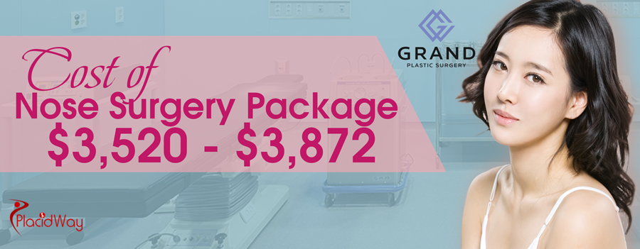 Cost of Nose Surgery Package in Seoul, South Korea