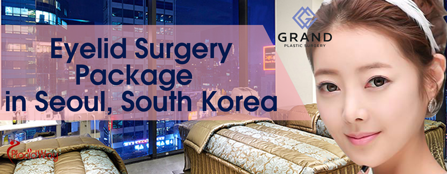 Eyelid Surgery Package in Seoul, South Korea