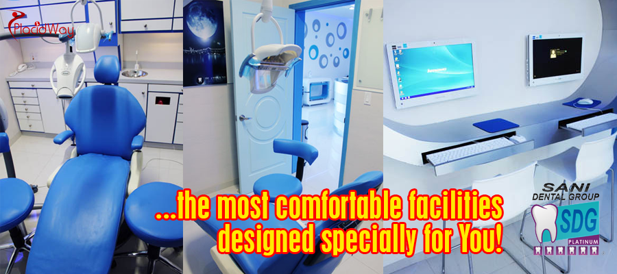 Most Comfortable Facilities at Sani Dental Group in Los Algodones, Mexico