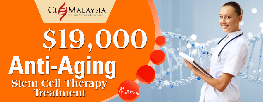Anti Aging Stem Cell Therapy Package in Kuala Lumpur, Malaysia