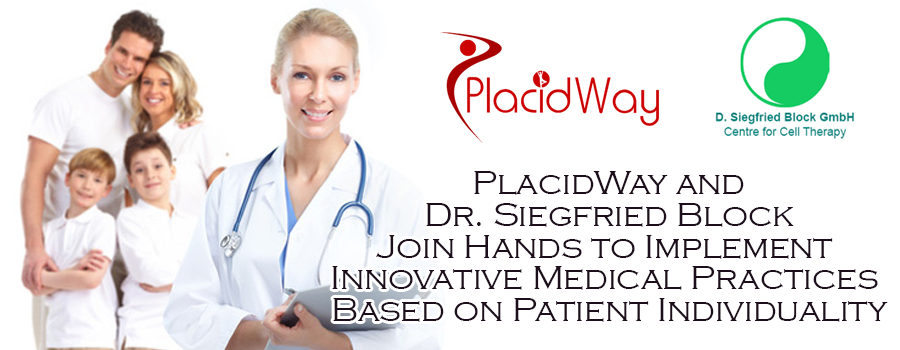 PlacidWay and Dr. Siegfried Block Join Hands to Implement Innovative Medical Practices Based on Patient Individuality