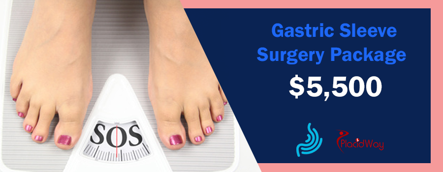 Price Gastric Sleeve Surgery Package in Monterrey, Mexico