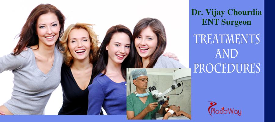 Dr. Vijay Chourdia - Treatments & Services