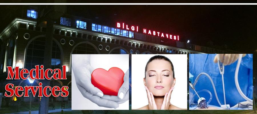 Urology, Plastic Surgery, Heart Surgery, Eye Surgery, Orthopedics in Ankara, Turkey