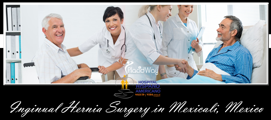 Inguinal Hernia Surgery Package in Mexicali