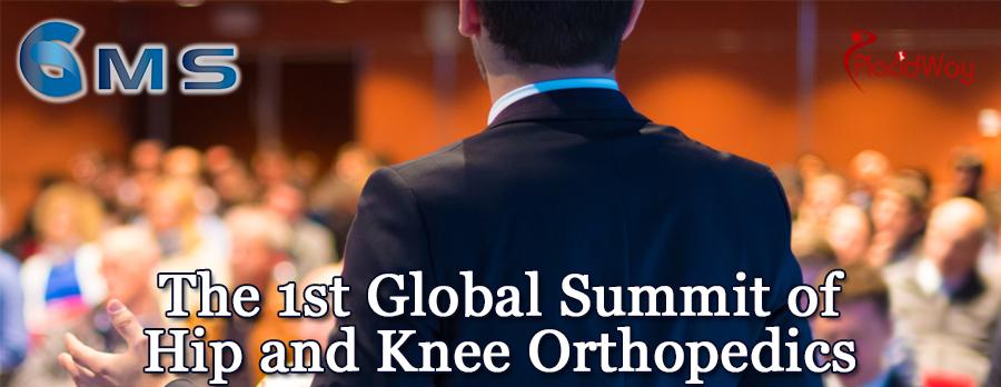 The 1st Global Summit of Hip and Knee Orthopedics, Limassol, Cyprus