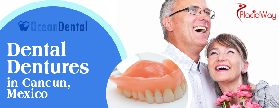 Flawless Dentures Package in Cancun
