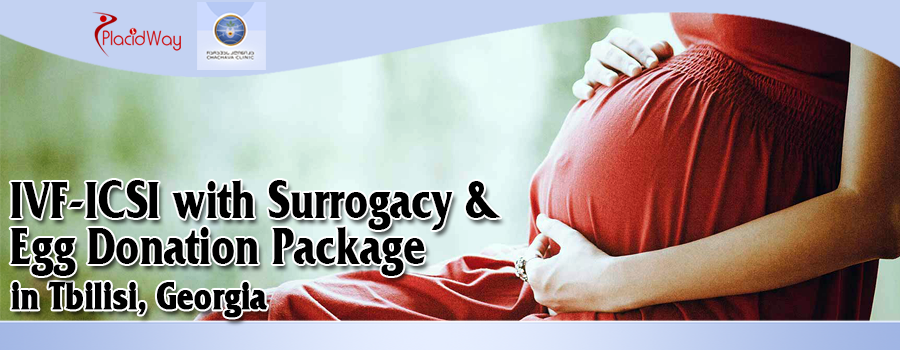 IVF-ICSI with Surrogacy and Egg Donation Package in Tbilisi, Georgia
