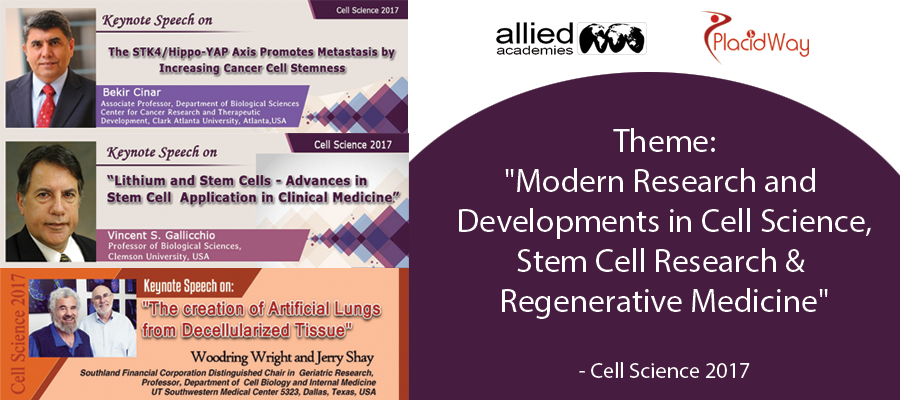 Annual Congress on Cell Science, Stem Cell Research & Regenerative Medicine, Atlanta, USA