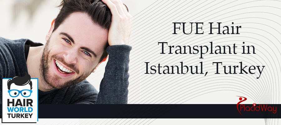 FUE Hair Transplant in Istanbul, Turkey