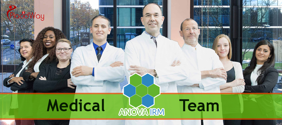 Medical Staff at the Anova IRM Stem Cell Center