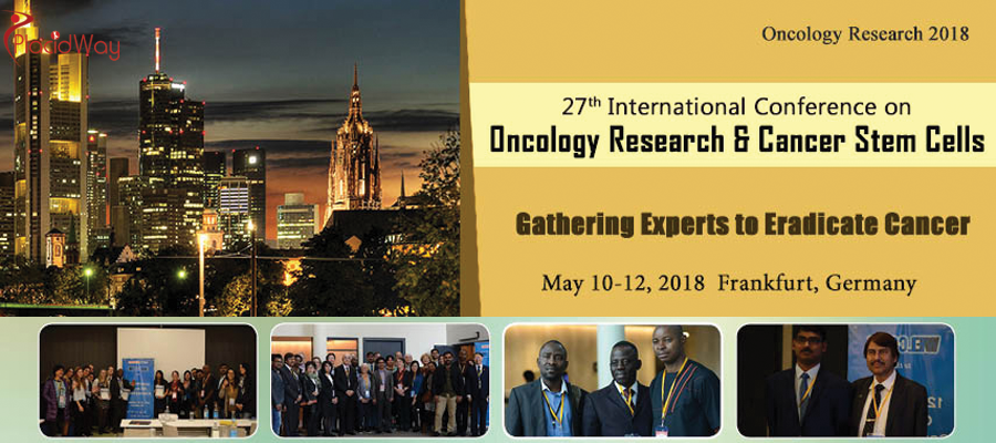 Welcome to the 27th International Conference on Oncology Research and Cancer Stem Cells