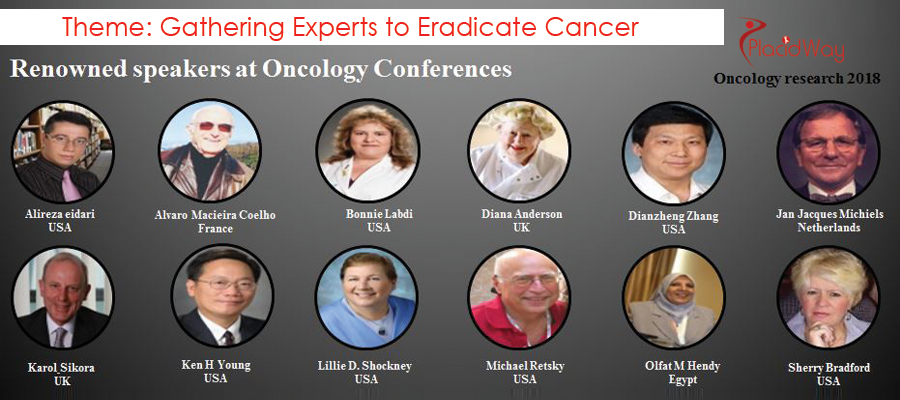 Past Speakers at the Oncology Conferences