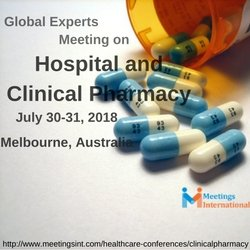 Welcome to the Global Experts Meeting on Hospital and Clinical Pharmacy