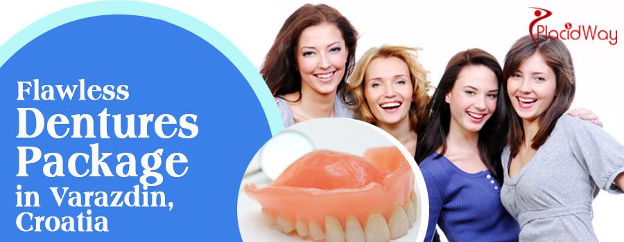 Flawless Dentures Package in Croatia