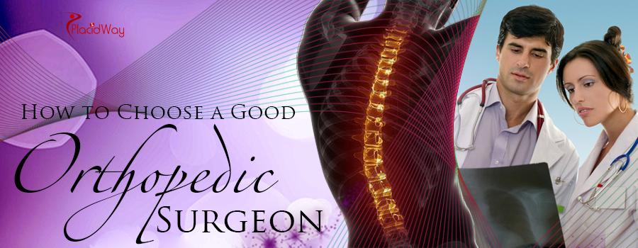 How to Choose a Good Orthopedic Surgeon