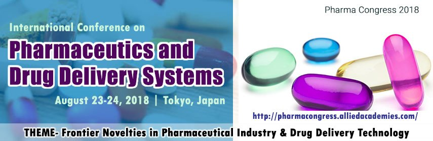 International Conference on Pharmaceutics and Drug Delivery Systems  2018