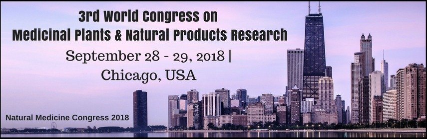 3rd World Congress on Medicinal Plants and Natural Products Research