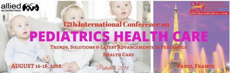 12th International Conference on Pediatrics Health Care