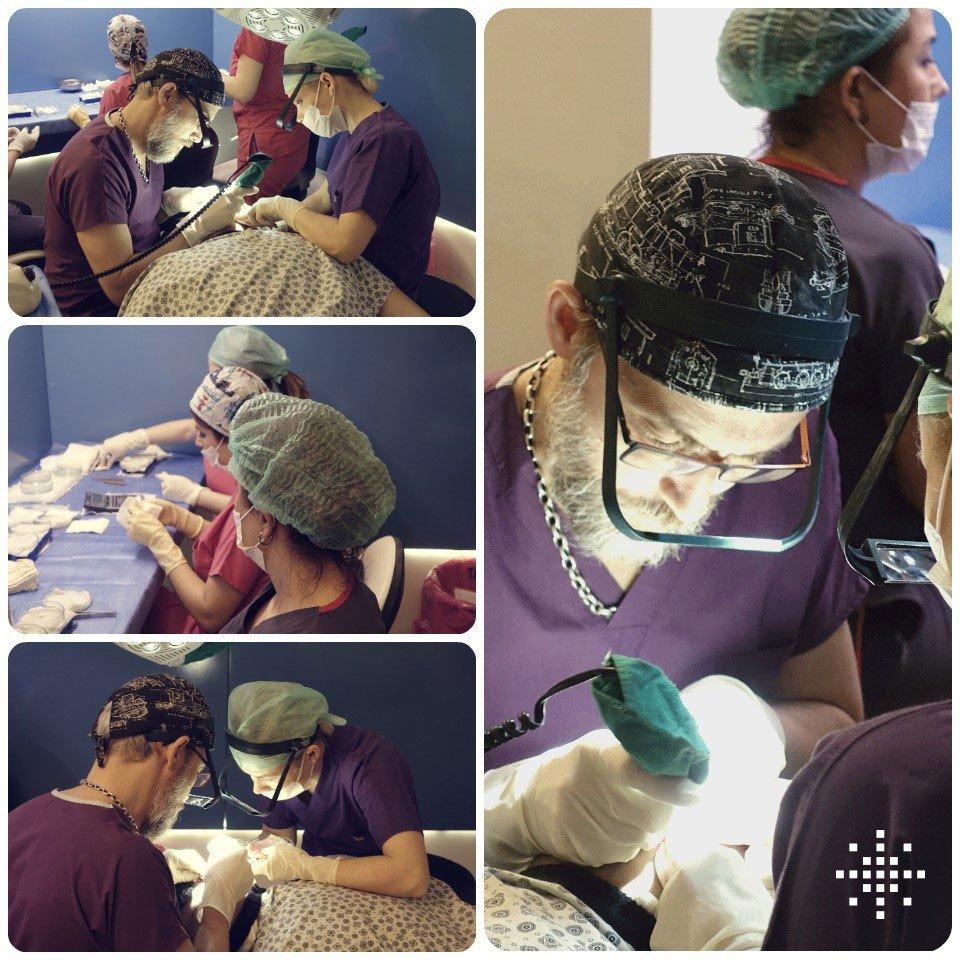 Hair Transplantation Process