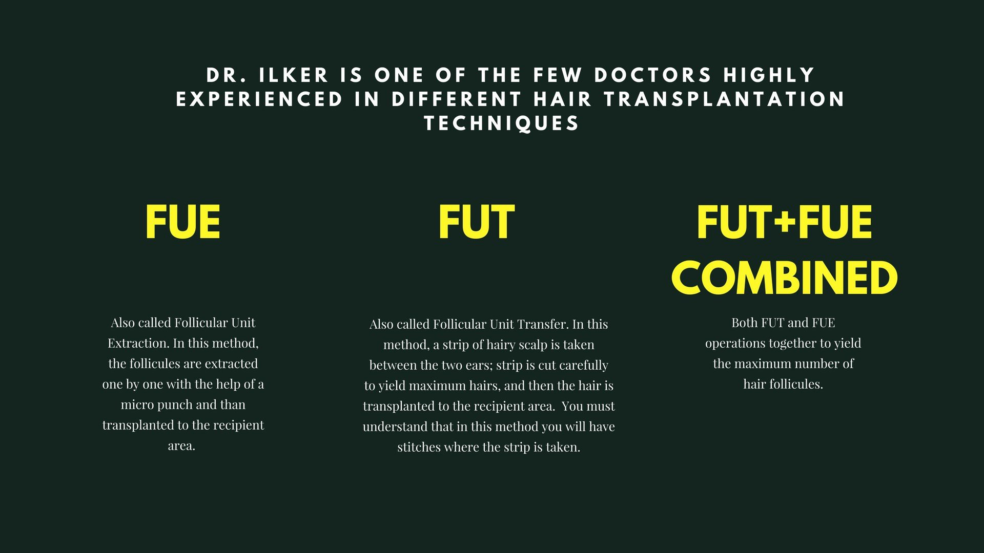Hair Transplant Options at Newage Clinic