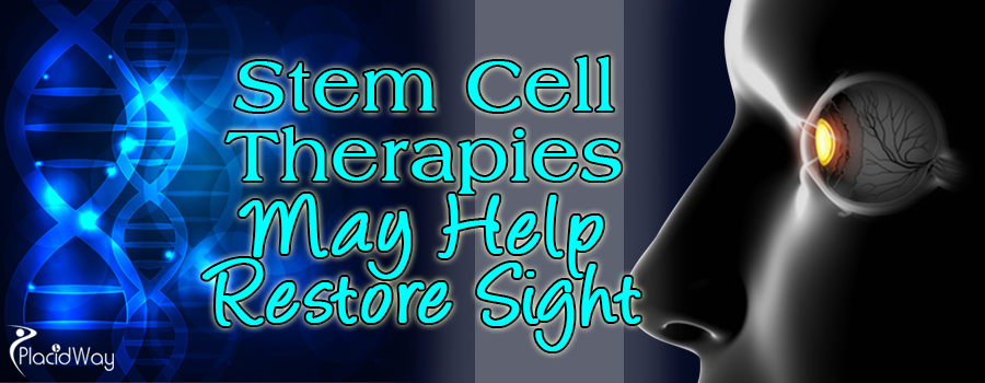 Stem Cell Therapies May Help Restore Sight
