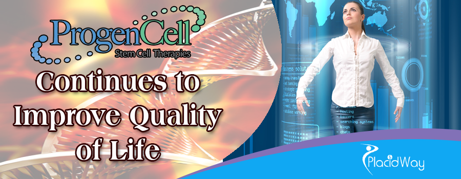 ProgenCell Continues to Improve Quality of Life
