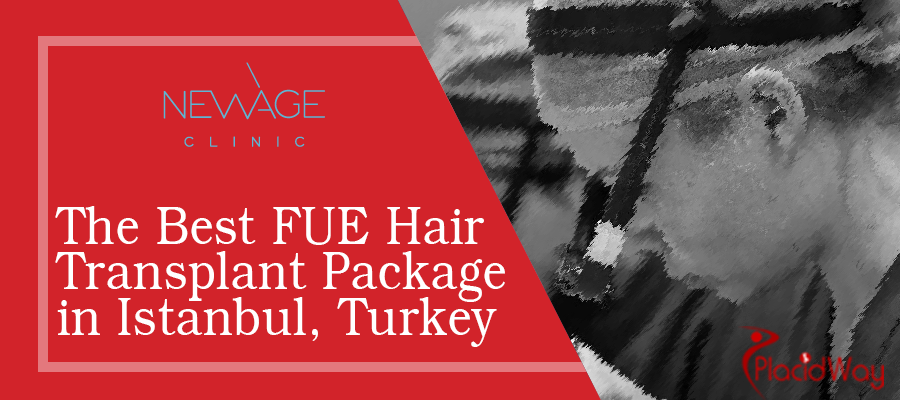 FUE Hair Transplant Package at New Age Clinic, Istanbul, Turkey