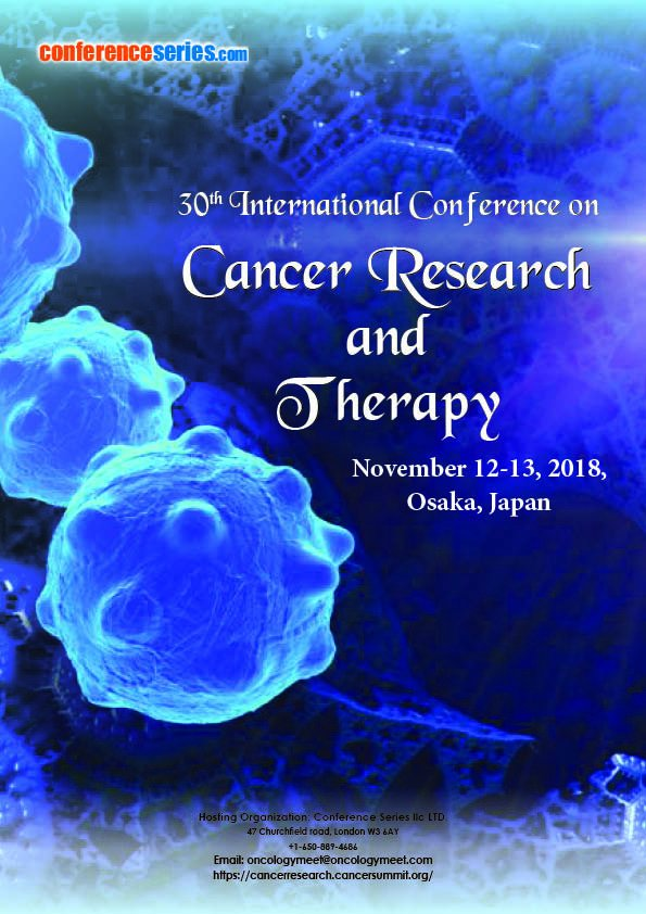 30th International Conference on Cancer Research and Therapy