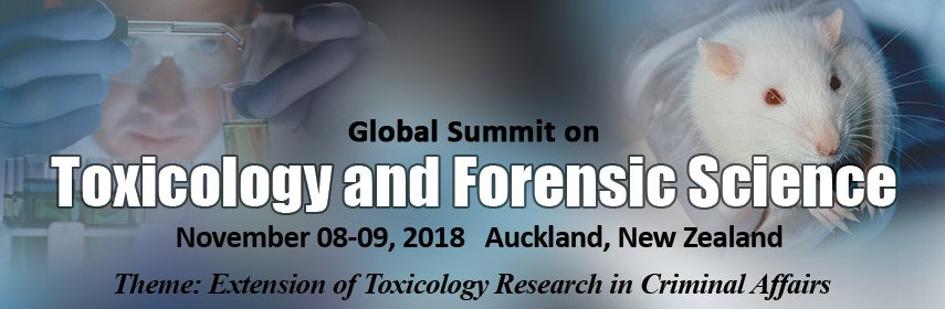 Global Summit on Toxicology and Forensic Science