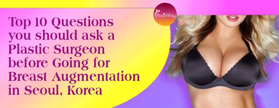 Breast Augmentation in Seoul, Korea