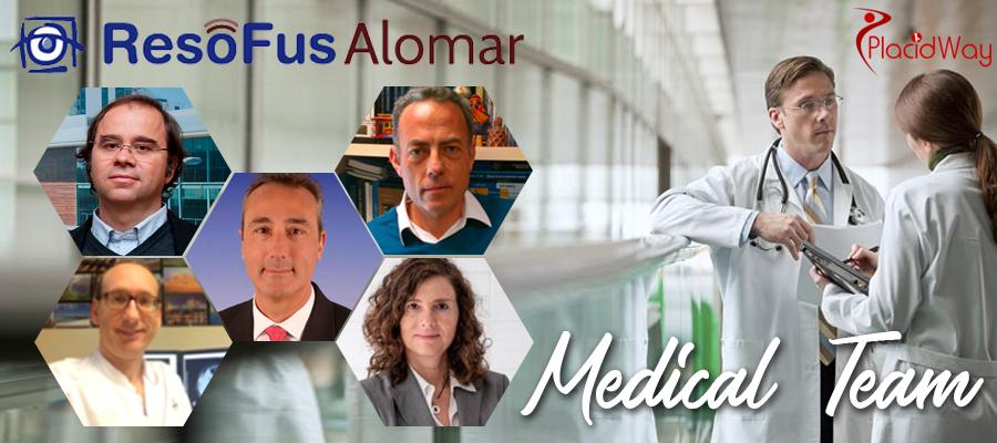 Medical Team, ResoFus Alomar Center Spain