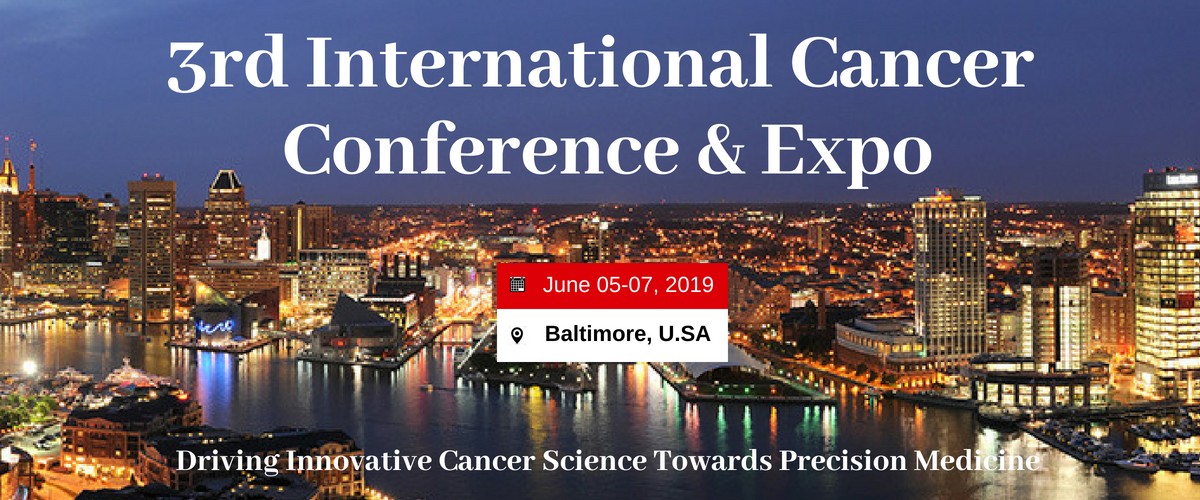 3rd International Cancer Conference and Expo