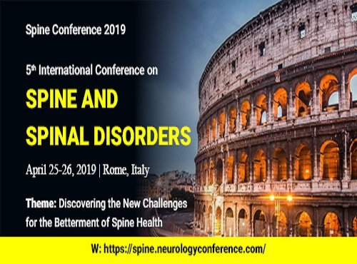 5th International Conference on Spine and Spinal Disorders